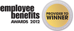 Employee Benefits Awards 2012 - Provider to Winner