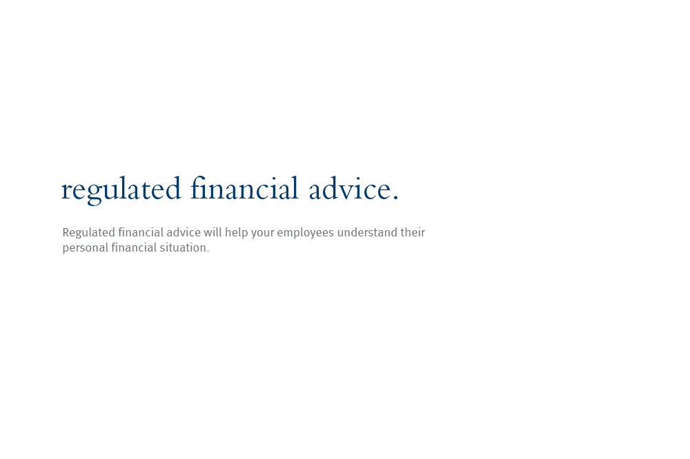 regulated financial advice