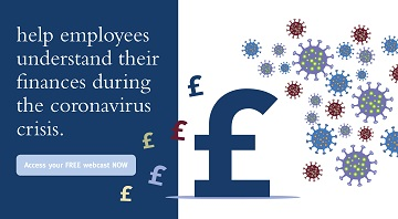 Free financial education for employees to help manage their finances during the coronavirus crisis.
