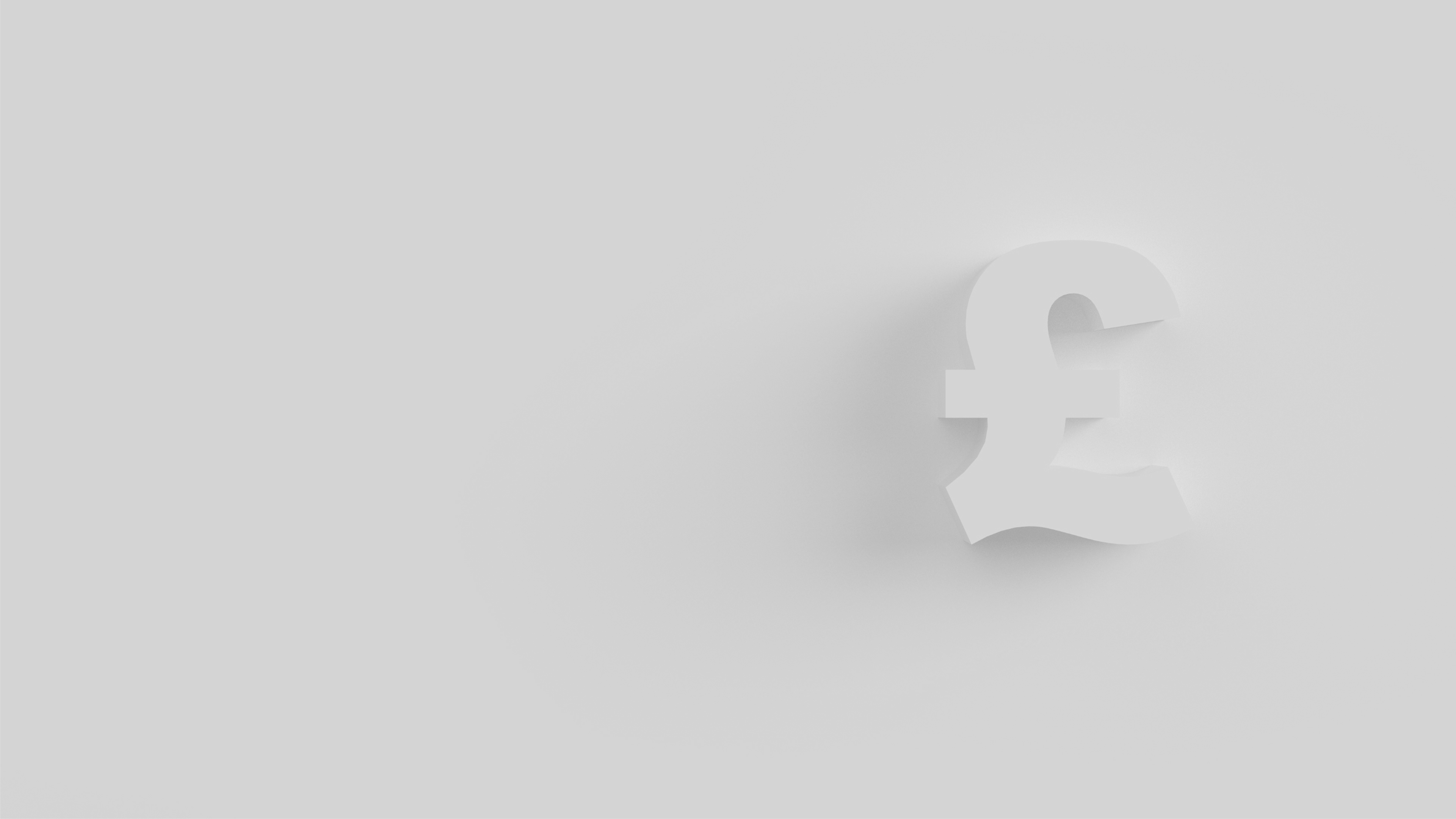 light grey background with a pound sign.