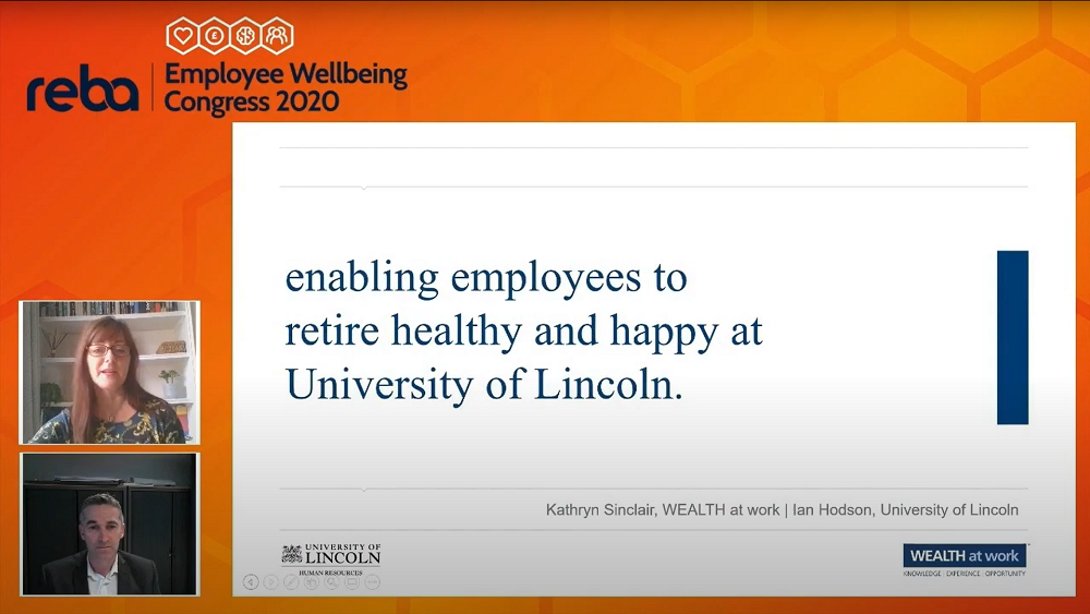 Enabling employees to retire healthy and happy at the University of Lincoln.