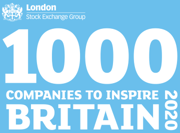 WEALTH at work listed as one of the '1000 companies to Inspire Britain' 2020.