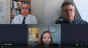 Tackling financial wellbeing in the workplace webinar with Hyde Housing.