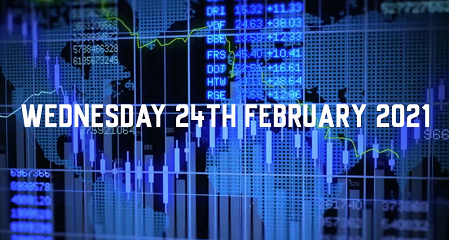 Market Update – 24th February 2021.