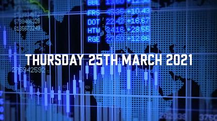 Market Update – 25th March 2021.