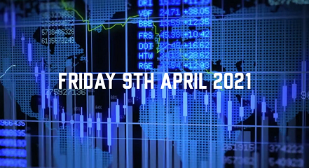 Market Update – 9th April 2021.