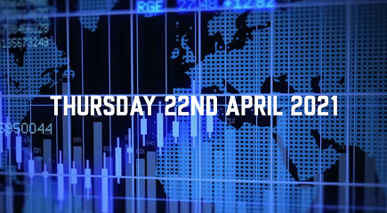 Market Update – 22nd April 2021.
