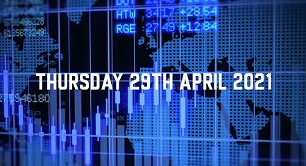 Market Update – 29th April 2021.