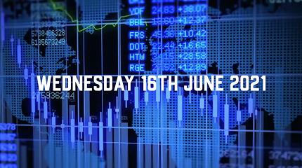 Market Update – 16th June 2021.