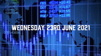 Market Update – 23rd June 2021.