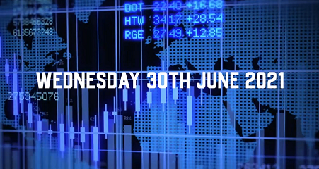 Market Update - 30th June 2021.