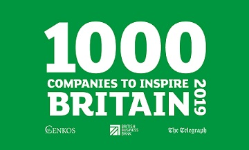 WEALTH at work listed as one of the '1000 Companies to Inspire Britain' 2019 by the London Stock Exchange Group.
